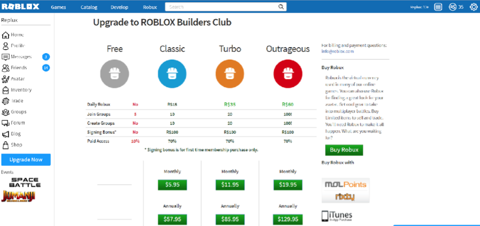How to earn Robux on Roblox