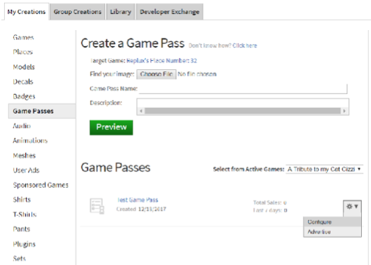 How To Make Money Off Your Roblox Game With Game Passes And Commissions