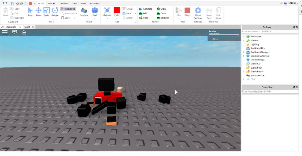 How to write your first Lua script on the Roblox platform