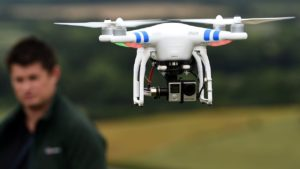 Look – no hands! Use your face to fly a drone