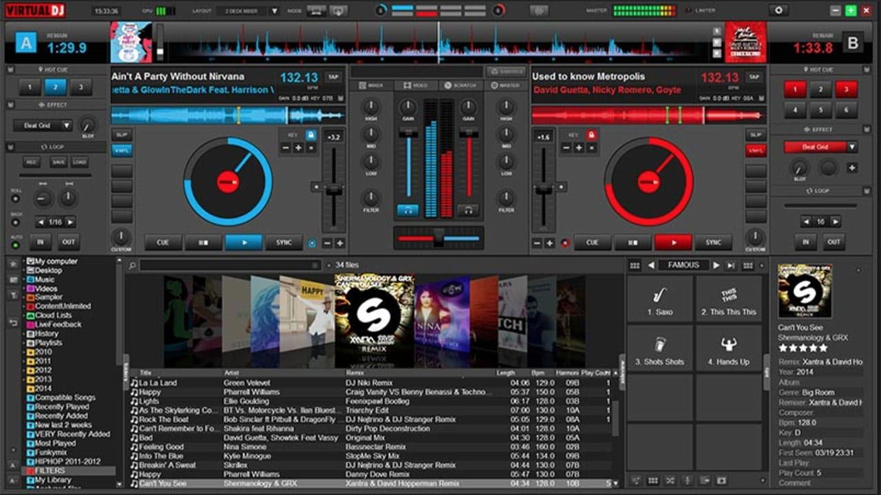 Easy DJ Mixing Software for Windows and Mac
