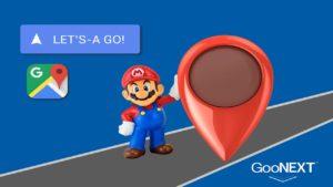 Mario has invaded Google Maps