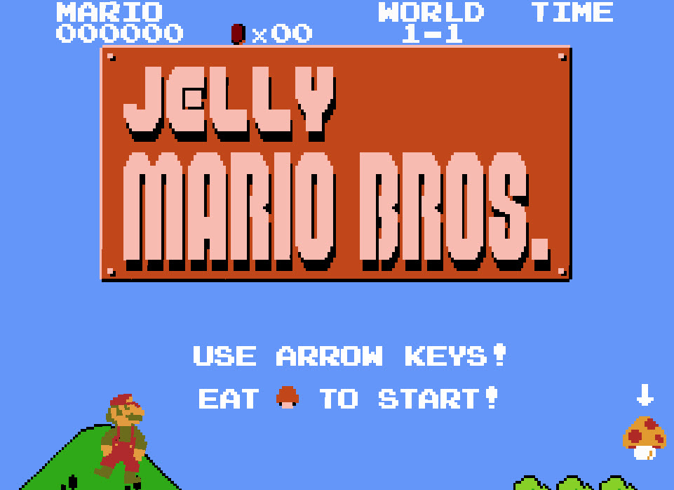 This crazy version of Super Mario will trip you out