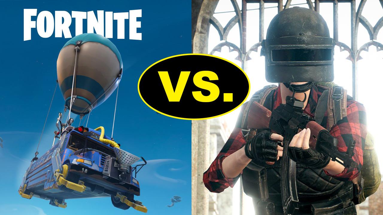 PuBG vs Fortnite: which is better?