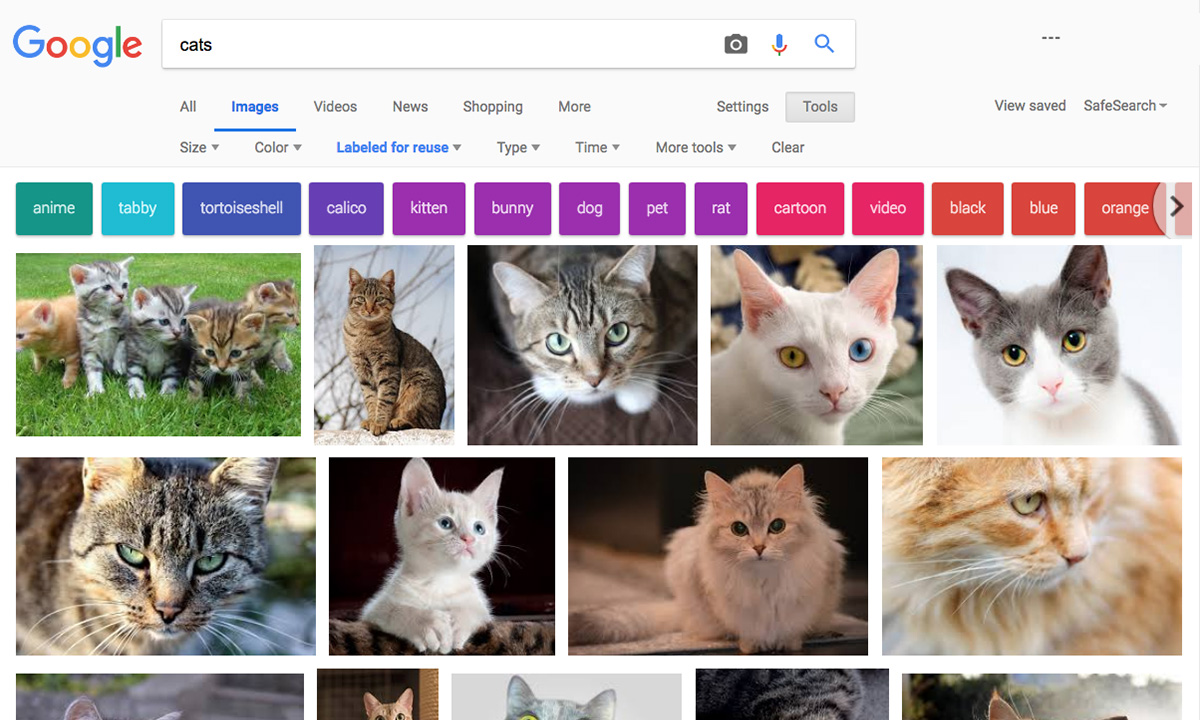 """How to get the """"view image"""" button back on Google Image Search"""
