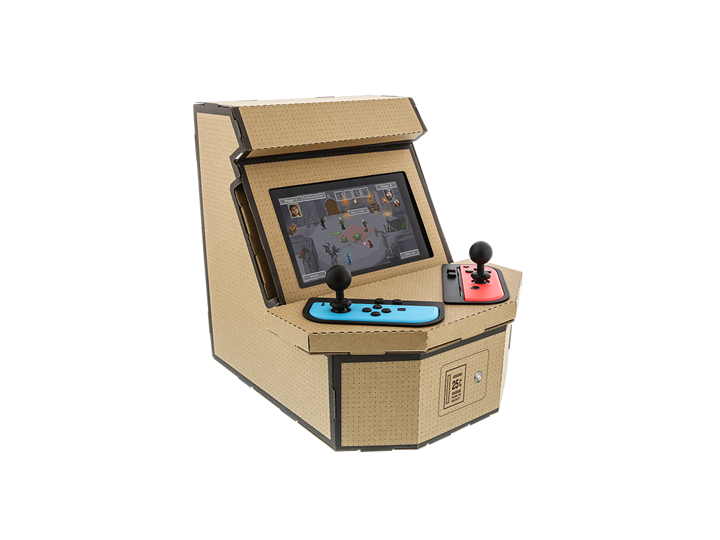 Is this cardboard arcade machine the best thing you can do