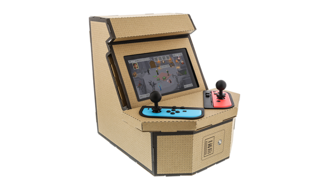 Is this cardboard arcade machine the best thing you can do with a Nintendo Switch?
