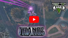 This is what happens when Thanos arrives in GTA
