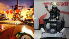 Watch: Mario Kart VR looks INTENSE