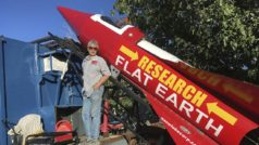 "Flat-Earther ""Mad"" Mike survives homemade rocket launch!"