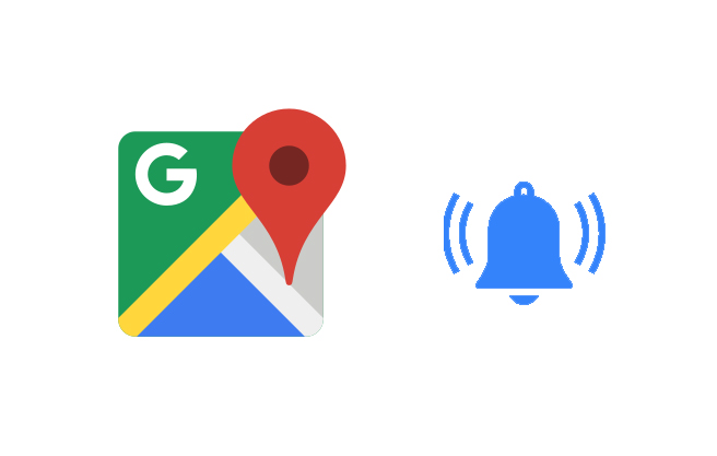 Google Maps desktop time to leave notifications