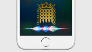 Has Siri just highlighted cyber-security weaknesses at the heart of the British government?