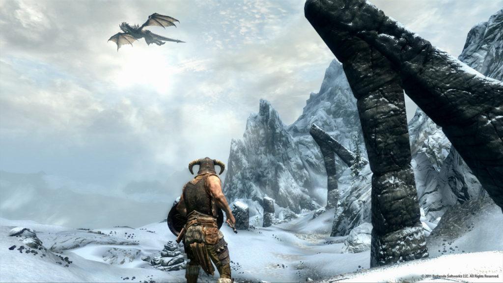 skyrim nord dragon soundtrack