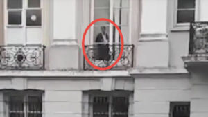 Watch: Is this a ghost?