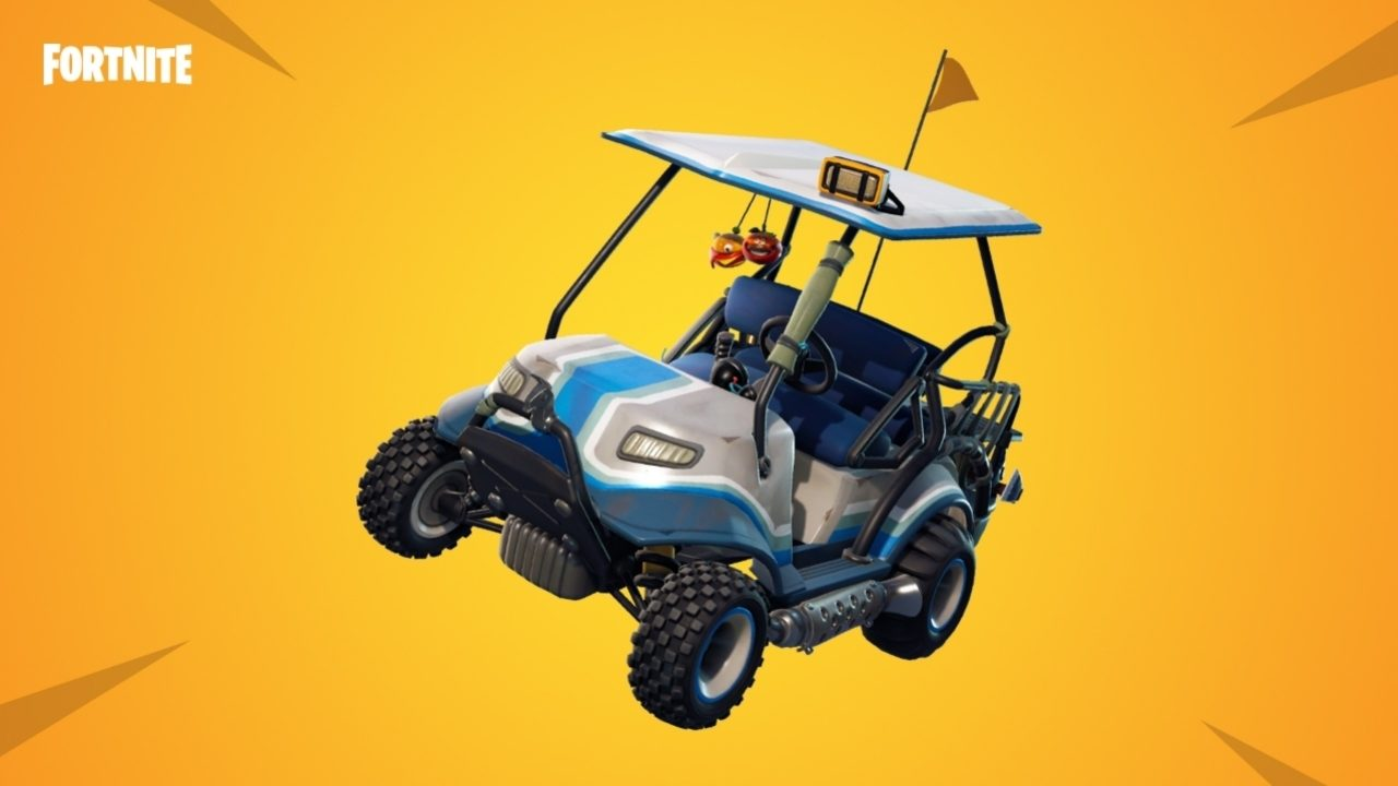 The secret to winning with golf cart combat in Fortnite on survival trailer, survival dune buggy, survival chain saw,