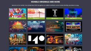 Play Limbo and 60+ other games for FREE with Humble Monthly