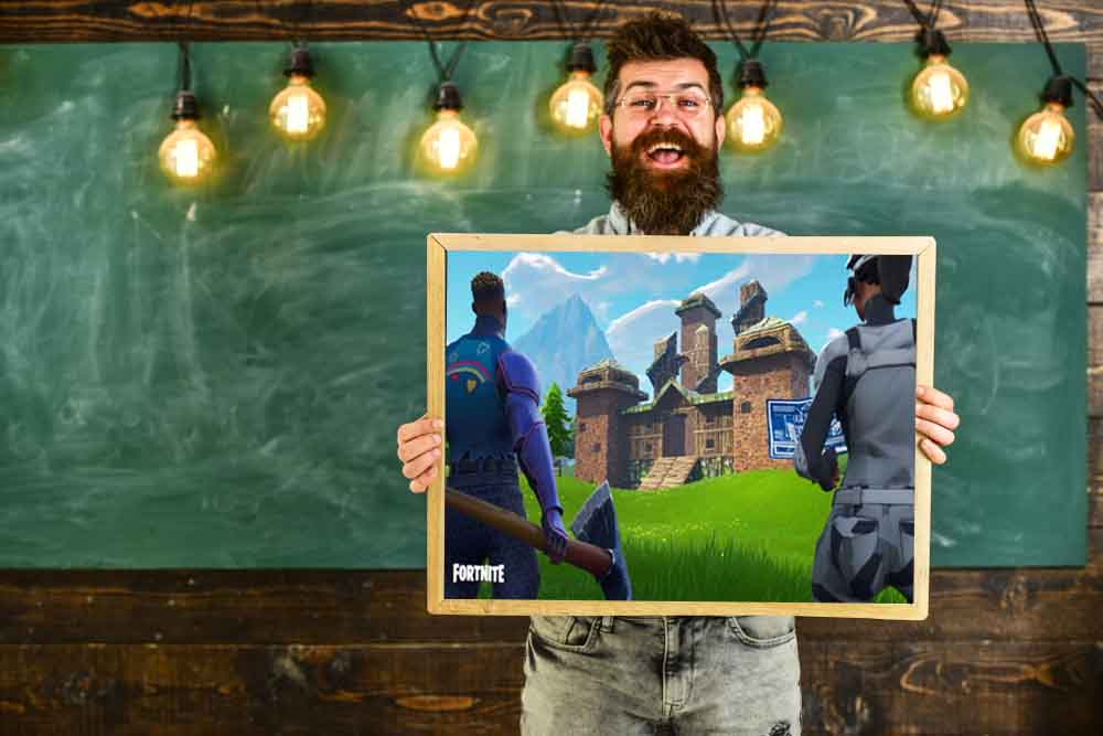Fortnite teacher