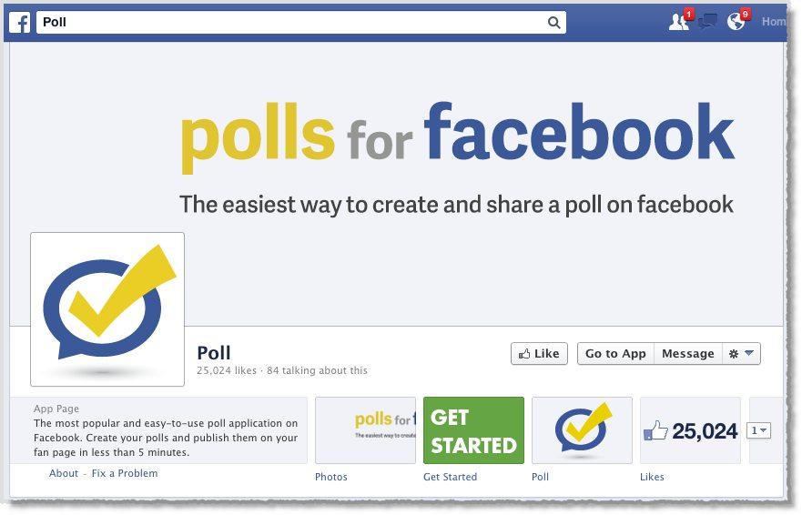 Polls For Facebook