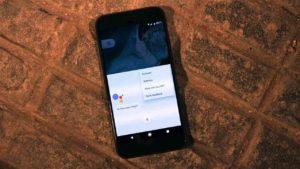 Strange behavior from Google Assistant