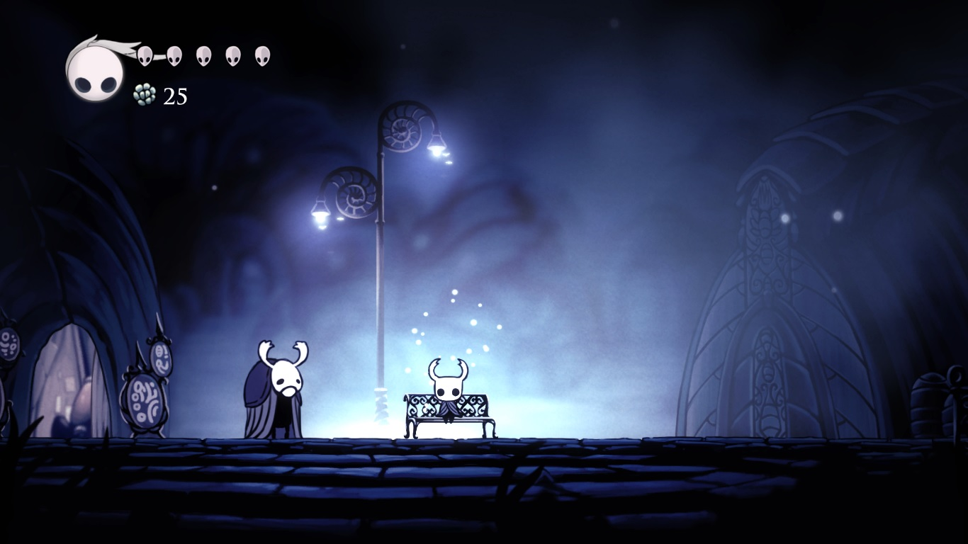 Hollow Knight bench