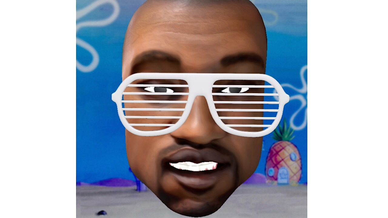 Supermoji Kanye