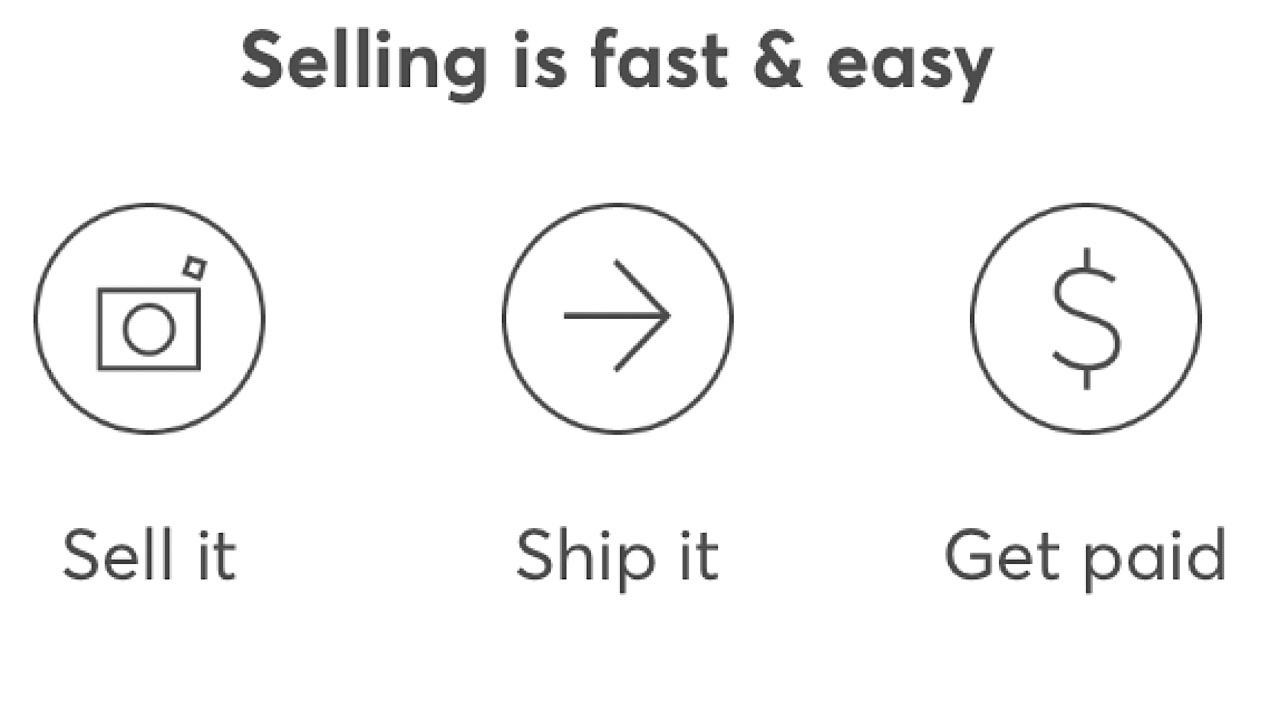 Mercari in app screenshot