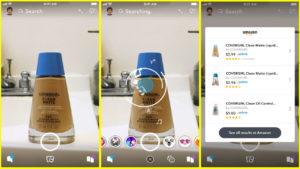 Snapchat uses augmented reality to team up with Amazon