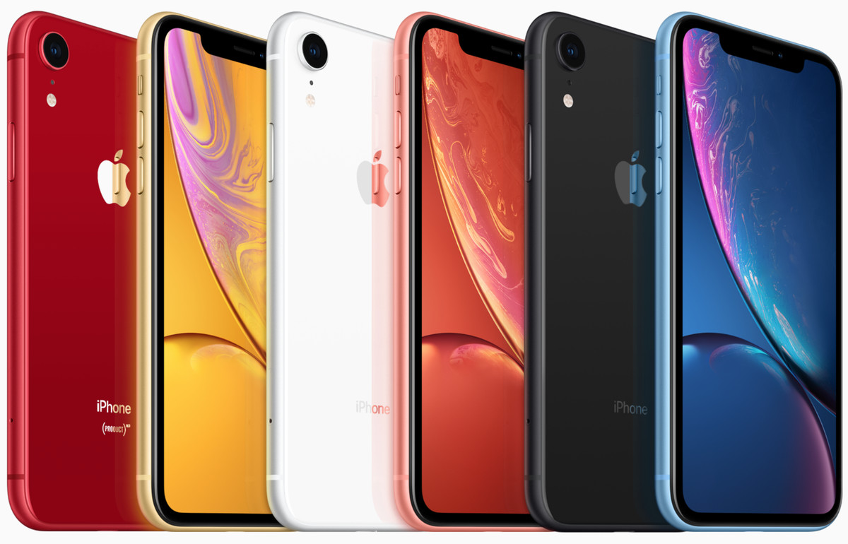 Six colorful skins for the XR