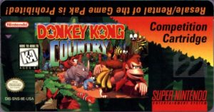 Donkey Kong Country Competition Cartridge NES