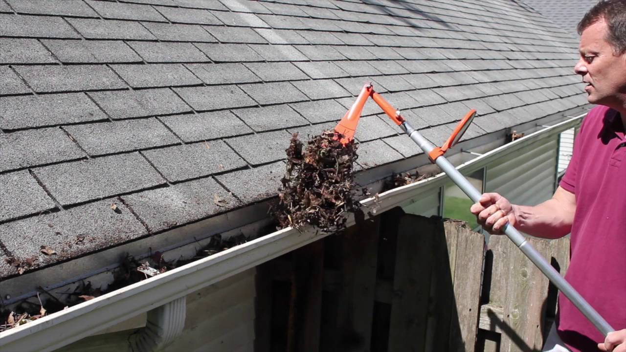 keep your gutters clean