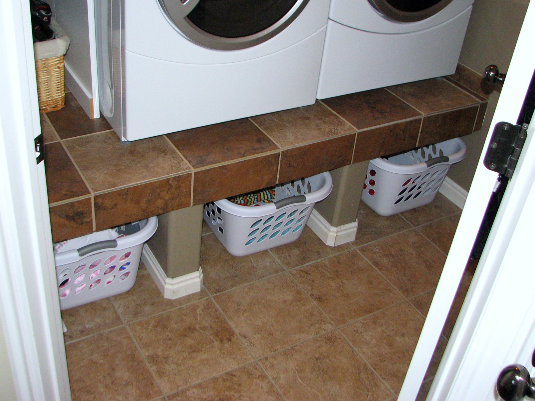 Elevated Washing machines