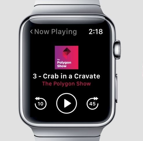 stream podcasts and listen to music on your watch!