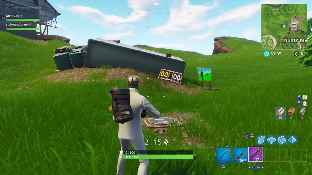 Fortnite How To Beat The Shooting Galleries Challenge