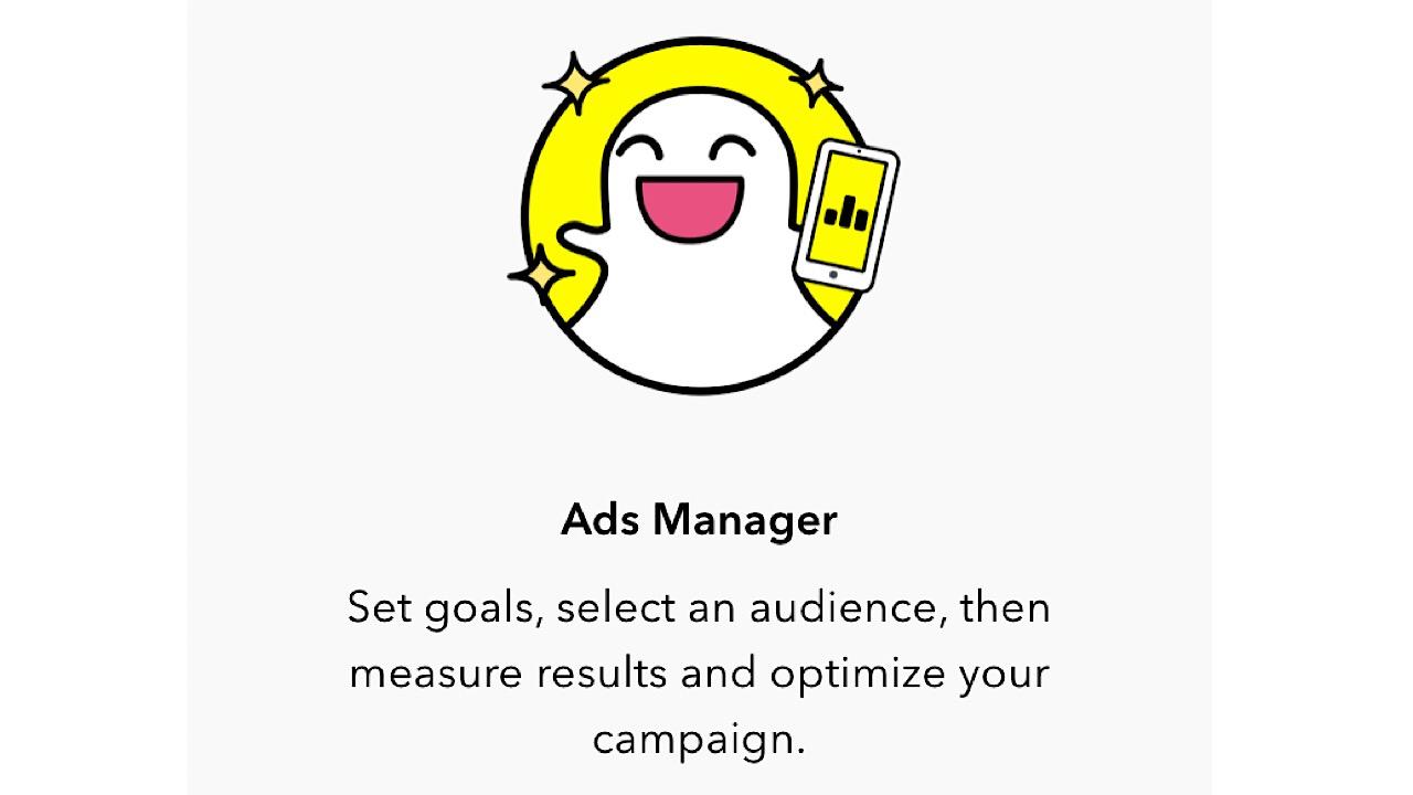 Ad manager screenshot