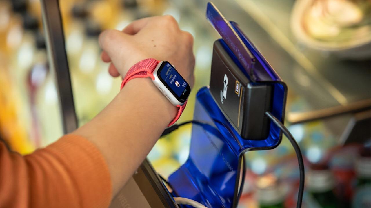 Apple watch swipe