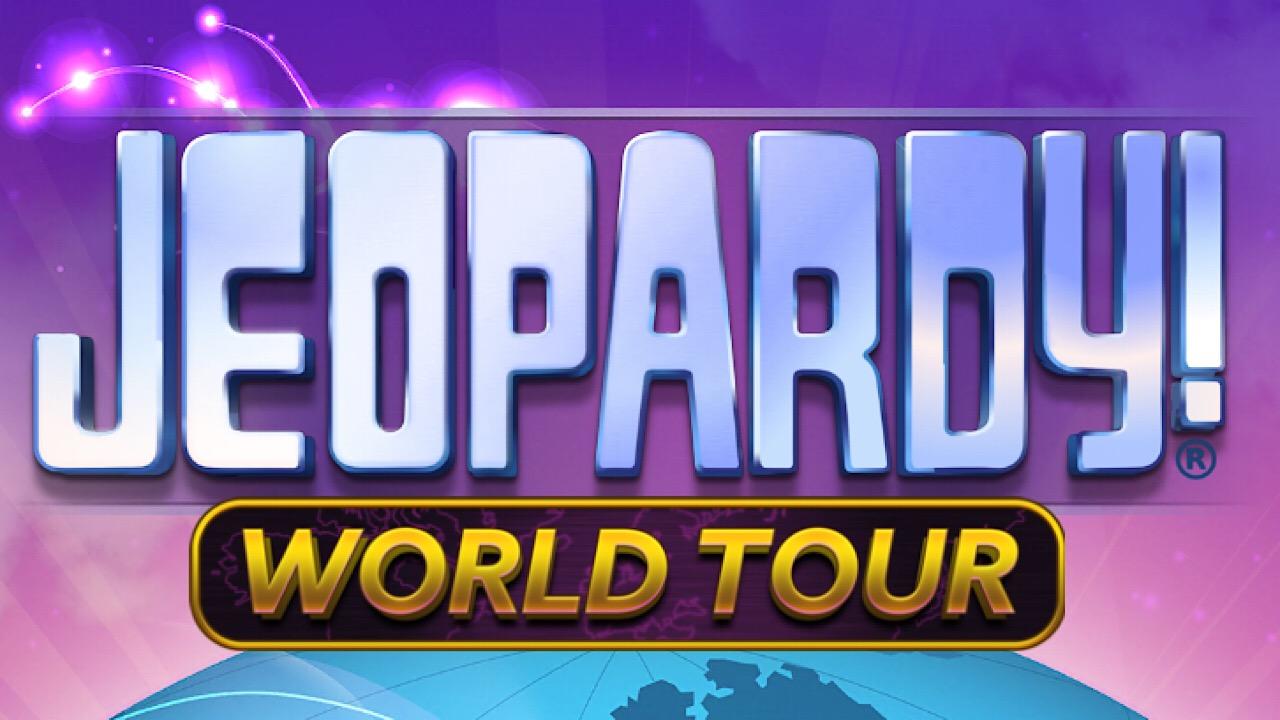 Jeopardy world tour logo