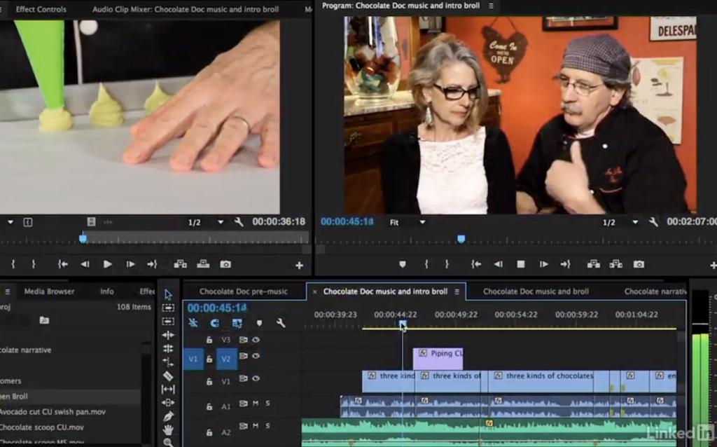 Video Editing Course -- Intro Lynda