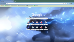 How to change Google's background theme