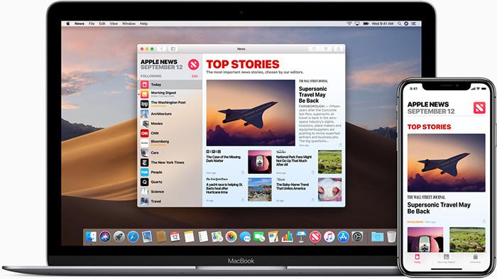 apple news feed