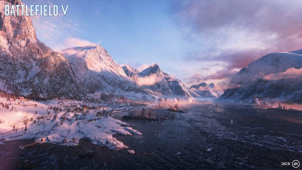 battlefield 5 arctic map