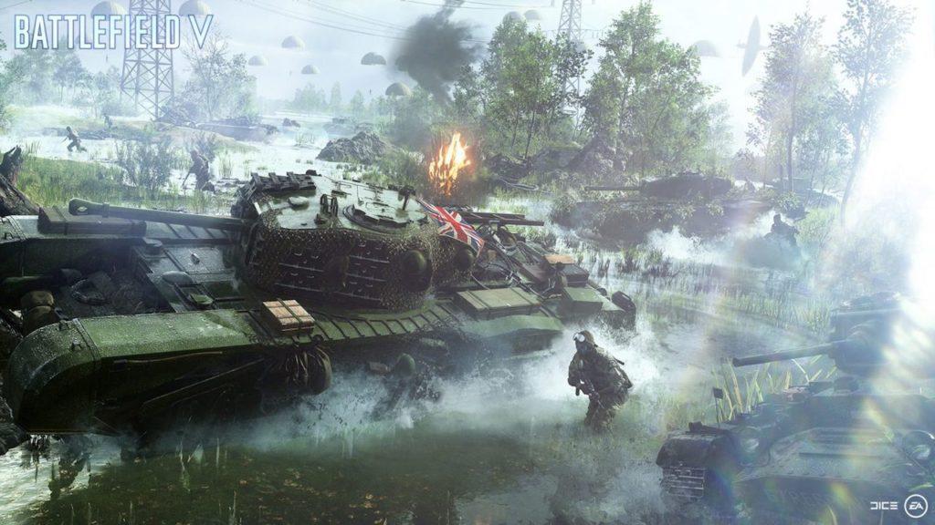battlefield 5 tank battle