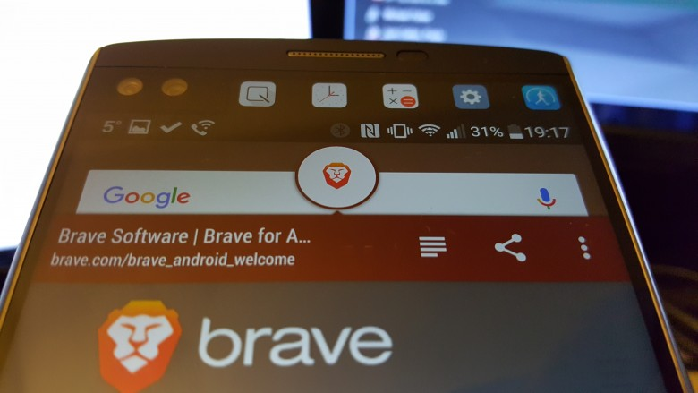 Brave's UI looks very familiar