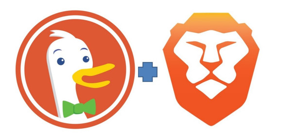 DuckDuckGo and Brave work hand in hand