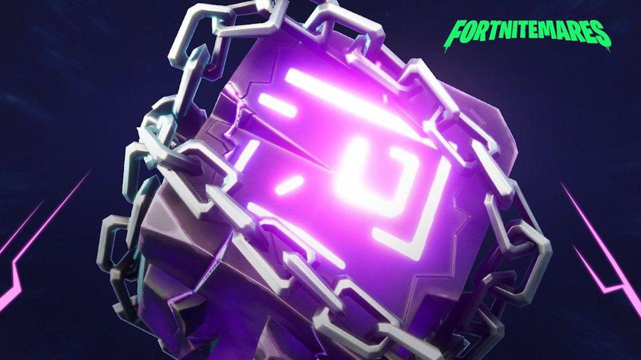 fortnite fortnitemares cube