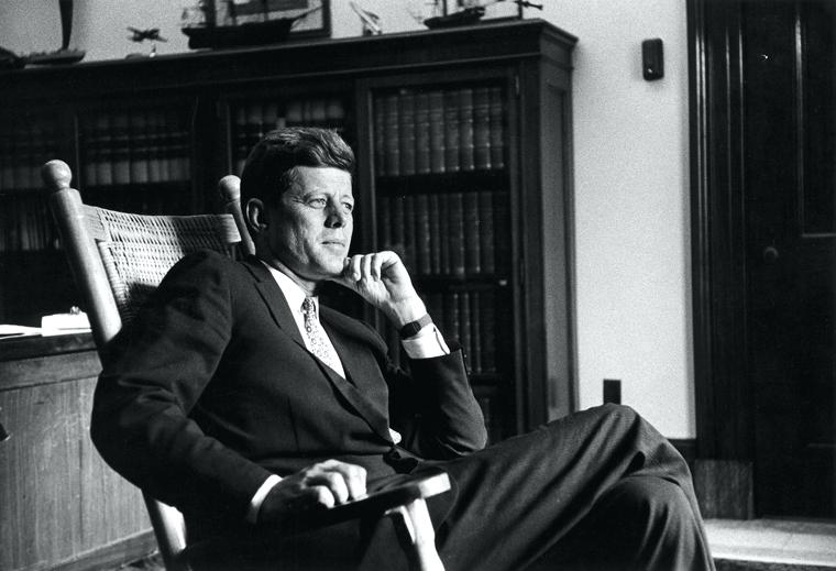 Calm, cool, and collected, JFK proved to skeptics that he was worthy of the title of President.