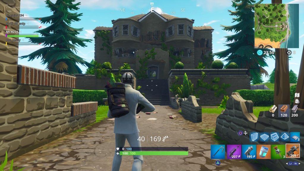 fortnite season 6 hero mansion ruins