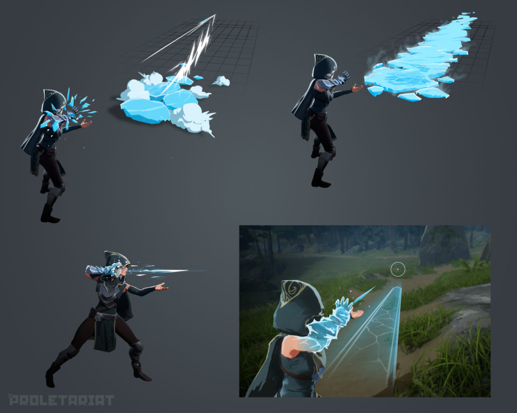 spellbreak concept art ice lance