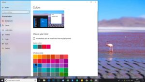 windows 10 color alternatives