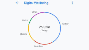 Android wellbeing Google app