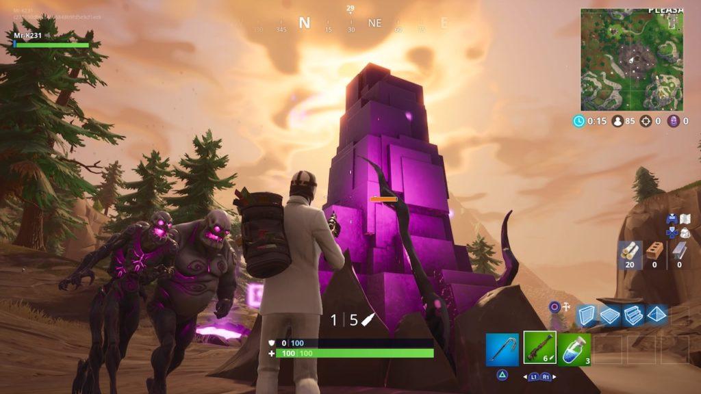 fortnite fortnitemares cube monsters